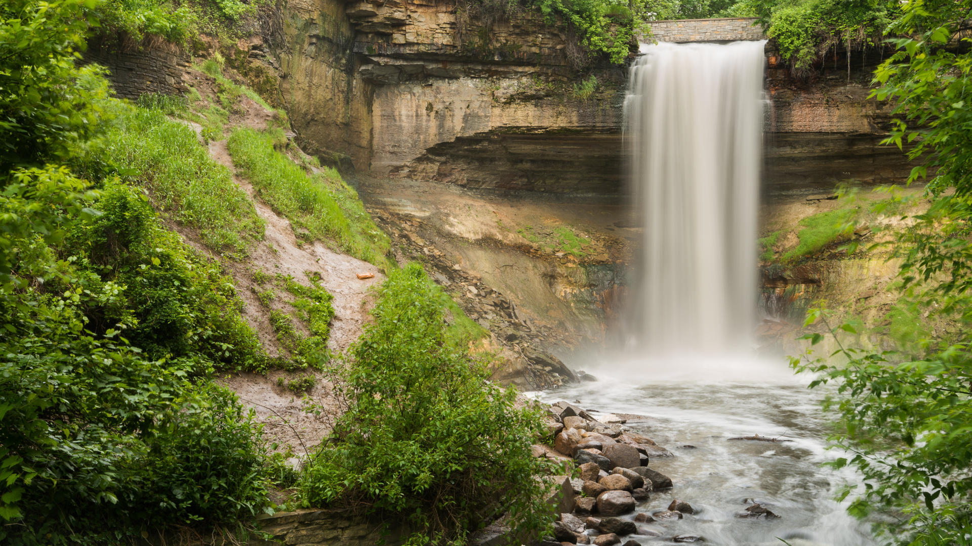 5 Urban Waterfalls In Minneapolis St Paul Twin Cities